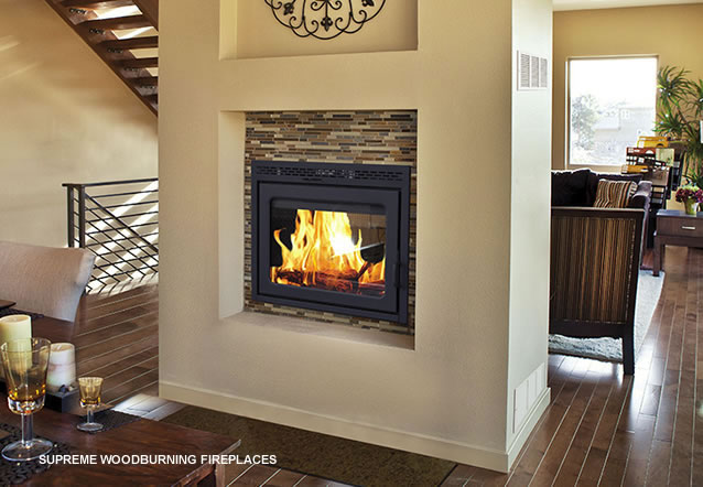 Supreme Woodburning Fireplaces